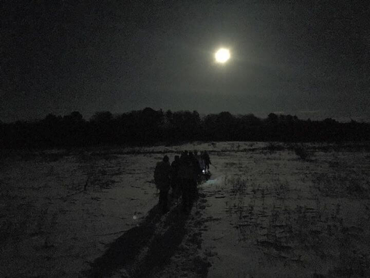 Full Moon Snowshoe